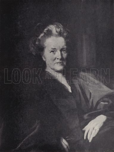 Dr Elizabeth Garrett Anderson. Illustration for Women of To-Day by Margaret Cole (Thomas Nelson, 1938).