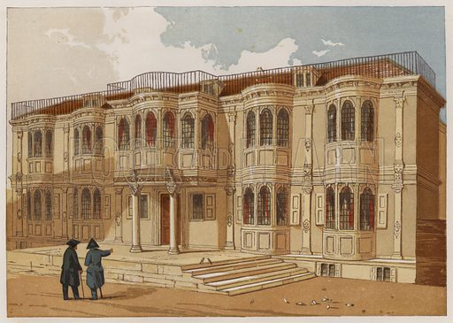 Old Palace at Greenwich. Illustration for Old England's Worthies by Lord Brougham (James Sangster, nd).