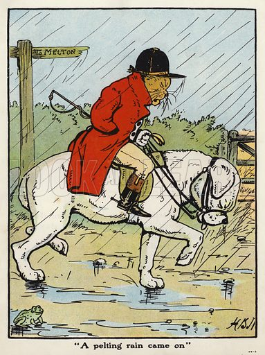 """A pelting rain came on"""