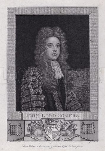 John Somers, 1st Baron Somers (1651–1716), English jurist and Whig politician.
