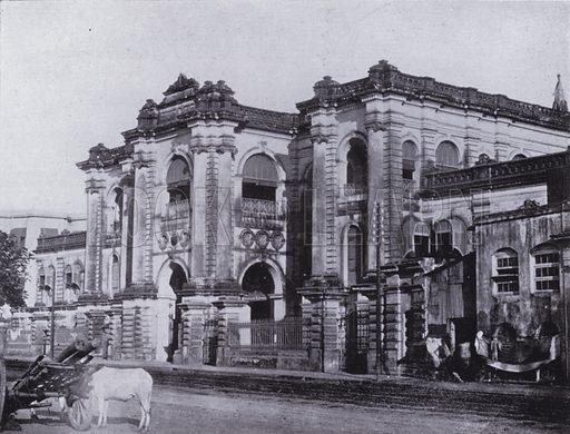 The Bank of Bengal. Illustration for Calcutta Illustrated (Thacker, Spink, c 1900).