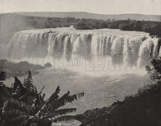 Falls of Juanacatlan. Illustration for America Photographed (Donohue, Henneberry, 1897).