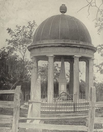 Polk's Tomb, Nashville, Tennessee. Illustration for America Photographed (Donohue, Henneberry, 1897).