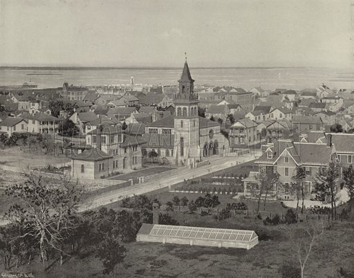 St Augustine, Florida. Illustration for America Photographed (Donohue, Henneberry, 1897).