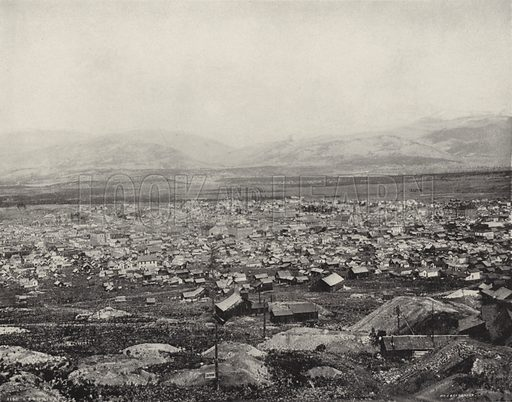 Leadville, Colorado. Illustration for America Photographed (Donohue, Henneberry, 1897).