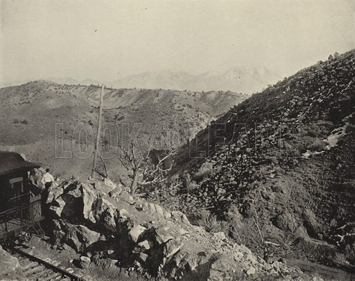 Mount Nebo, Utah. Illustration for America Photographed (Donohue, Henneberry, 1897).