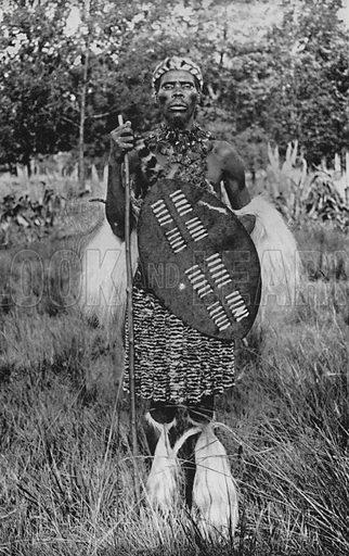 South Africa: A Zulu Chief