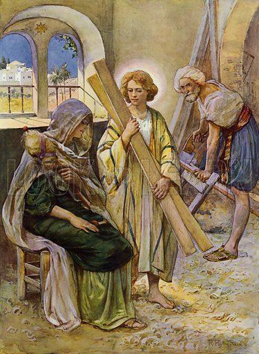 The Boy Jesus In The Carpenter's Shop