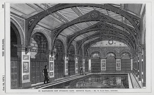 St Marylebone New Swimming Bath, Seymour Place