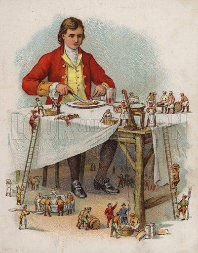 Illustration for Gulliver's Travels