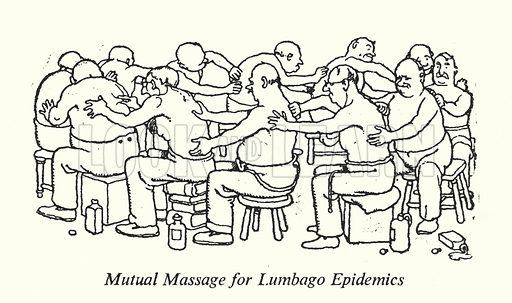 Mutual Massage for Lumbago Epidemics
