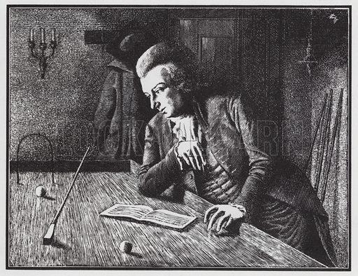Mozart at the billiard table
