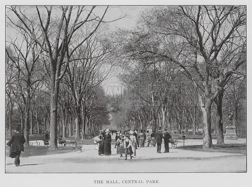 New York: The Mall, Central Park