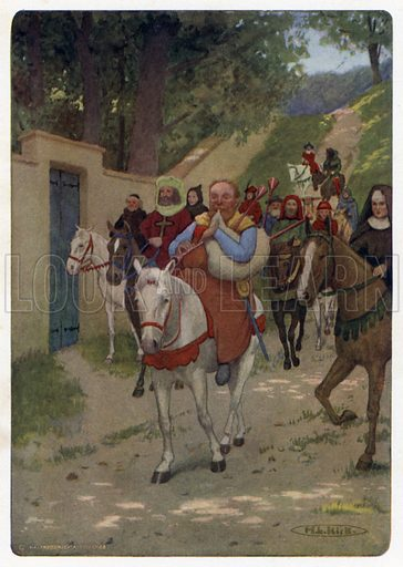 Chaucer's Canterbury Tales: The Miller plays the Company out of Town