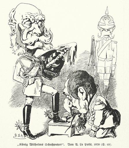 King Wilhelm's Shoe Cleaner