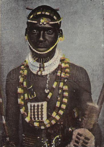 Zulu in Marriage Costume