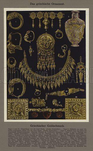 Das griechische Ornament, Griechischer Goldschmuck