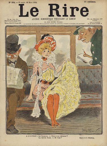 Illustration for Le Rire, 15 March 1902.