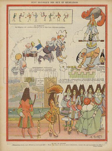 Illustration for Le Rire, 9 April 1904.