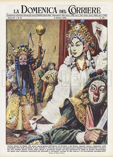 Teatro cinese in Italia. Gli attori meravigliosi dell