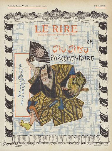 Illustration for Le Rire, 20 January 1906.