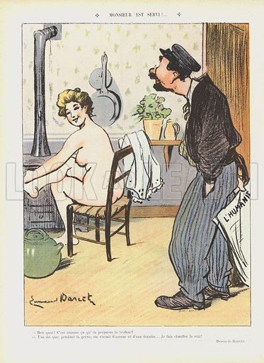 Illustration for Le Rire, 23 June 1906.