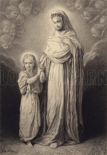 The Child Jesus and his Mother