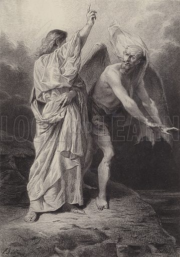 Christ tempted of the Devil