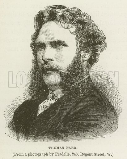 Thomas Faed. Illustration for Toilers in Art by Henry C Ewart (Isbester, c 1890).