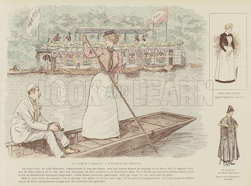 Illustration for La Vie De Londres by Mars