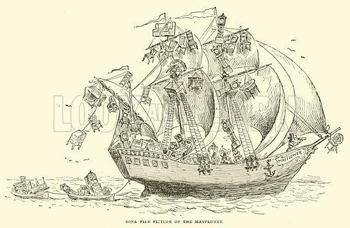 Bona fide picture of the Mayflower