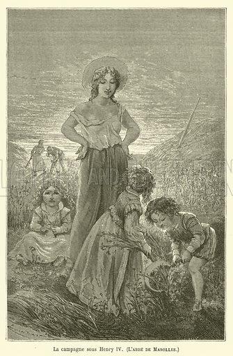 La campagne sous Henry IV, L'abbe de Marolles. Illustration for Le Tresor Litteraire de la France (Hachette, 1866).