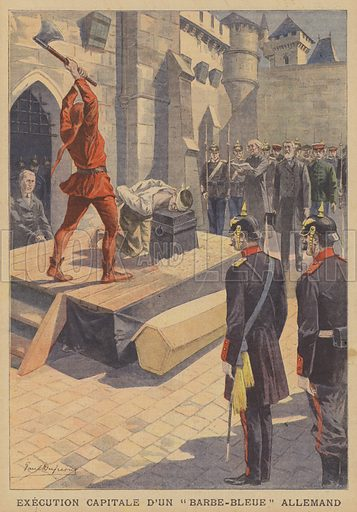 Execution of a German