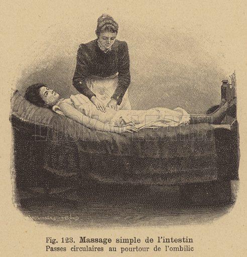Simple intestinal massage