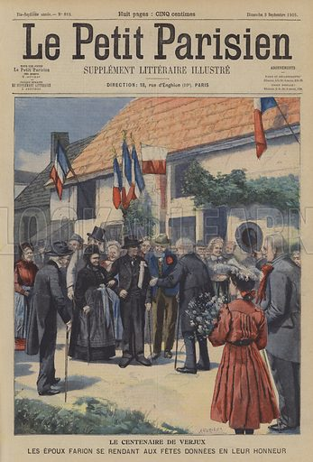The centenarian of Verjux, France