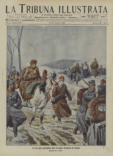The surrender of the Turkish garrison of Ioannina to the