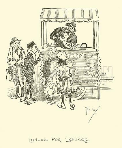 Illustration for Phil May's Gutter-Snipes