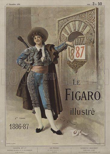 Cover of Le Figaro Illustre, 1 December 1886