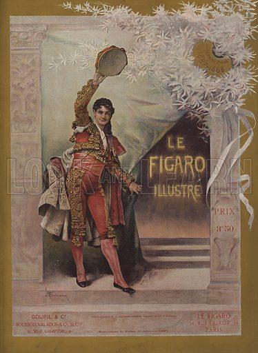 Cover of Le Figaro Illustre, 1 December 1887