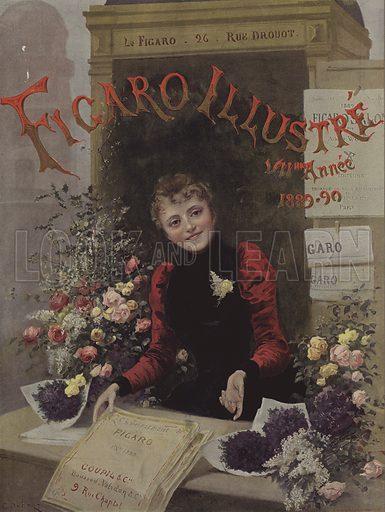 Cover of Le Figaro Illustre, 1889