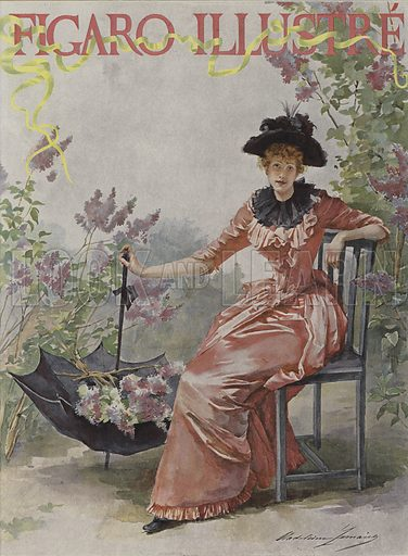 Cover of Le Figaro Illustre, May 1891