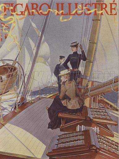 Cover of Le Figaro Illustre, July 1891