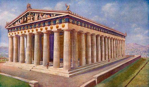 The Parthenon, shining Diadem of Athens and Treasure-house of Peerless Statuary