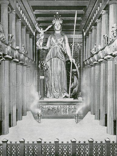 Masterpiece of Pheidias: The Statue of Athene in her chosen shrine