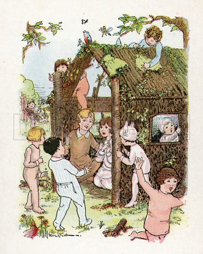 Illustration for Children's Hour with Peter Pan edited by Watty Piper (Platt and Munk, c 1934).