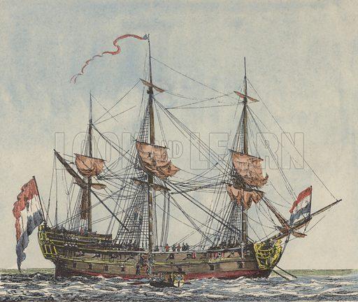 Ship of the Dutch East India Company.