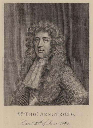 Sir Thomas Armstrong, English soldier and politician - Look