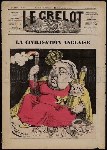 La Civilisation Anglaise – based on Gin