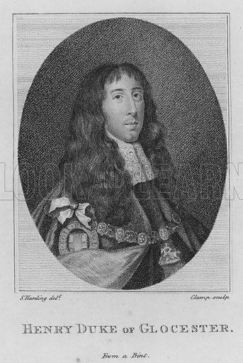 Henry Duke of Glocester. Illustration for Memoires du Comte de Grammont by Antoine Hamilton (Edwards, nd).