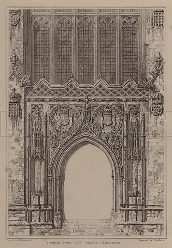 South Porch, King's College Chapel, Cambridge